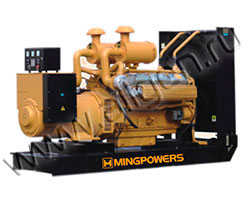 Дизель электростанция MingPowers M-Y52 мощностью 53 кВА (42 кВт) на раме