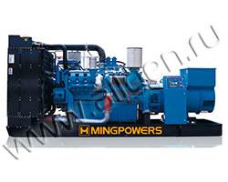 Дизельная электростанция MingPowers M-W825E