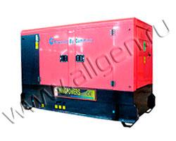 Дизель генератор MingPowers M-Y44 мощностью 44 кВА (35 кВт) в шумозащитном кожухе