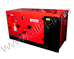 Дизель генератор MingPowers M-Y65 мощностью 66 кВА (53 кВт) в шумозащитном кожухе