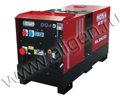 Дизель генератор MOSA GE 35 PSX мощностью 33 кВА (26 кВт) в шумозащитном кожухе