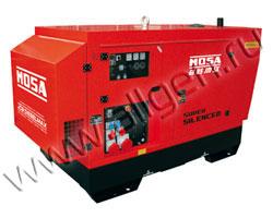 Дизель генератор MOSA GE 85 JSX мощностью 88 кВА (70 кВт) в шумозащитном кожухе