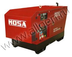 Дизель генератор MOSA GE 85 PSX мощностью 88 кВА (70 кВт) в шумозащитном кожухе