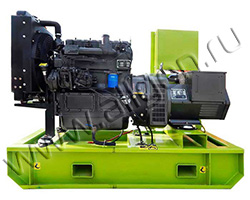 Дизель электростанция MOTOR АД25-Т400-R мощностью 34 кВА (27 кВт) на раме