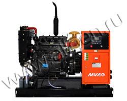 Дизель электростанция MVAE АД-25-400-Р мощностью 34 кВА (28 кВт) на раме
