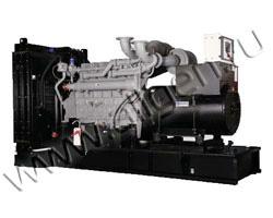 Дизель электростанция MVAE АД-250-400-С мощностью 348 кВА (278 кВт) на раме