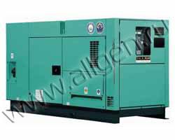 Дизель генератор Nippon Sharyo NES100EI мощностью 84 кВА (67 кВт) в шумозащитном кожухе