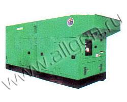 Дизель генератор Nippon Sharyo NES610SM мощностью 582 кВА (466 кВт) в шумозащитном кожухе