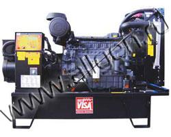 Дизель электростанция Onis Visa D 30 мощностью 33 кВА (26 кВт) на раме