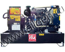 Дизель электростанция Onis Visa P 80  мощностью 88 кВА (70 кВт) на раме