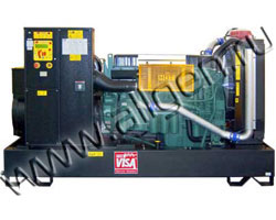 Дизель электростанция Onis Visa V 326  мощностью 358 кВА (286 кВт) на раме