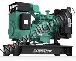 Дизель электростанция PowerLink GMS30C/S мощностью 33 кВА (26 кВт) на раме