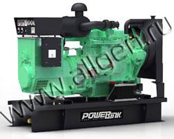 Дизель электростанция PowerLink GMS30PX/S мощностью 33 кВА (26 кВт) на раме