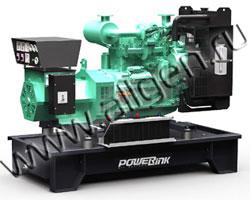 Дизель электростанция PowerLink GMS42C/S мощностью 47 кВА (38 кВт) на раме