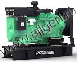 Дизель электростанция PowerLink GMS80PX/S мощностью 88 кВА (70 кВт) на раме