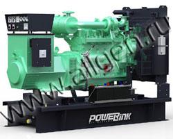Дизель электростанция PowerLink GMS80C/S мощностью 88 кВА (70 кВт) на раме