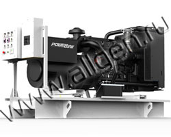 Дизель электростанция PowerLink WPS30/S мощностью 33 кВА (26 кВт) на раме