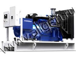 Дизель электростанция PowerLink WPS500/S мощностью 556 кВА (445 кВт) на раме