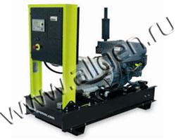 Дизель электростанция Pramac GSA30D мощностью 32 кВА (26 кВт) на раме