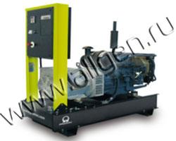 Дизель электростанция Pramac GSL30D мощностью 32 кВА (26 кВт) на раме
