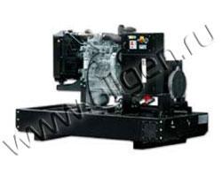 Дизель электростанция RID 40 Iveco мощностью 50 кВА (40 кВт) на раме