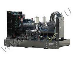 Дизель электростанция RID 500 MTU мощностью 550 кВА (440 кВт) на раме