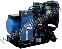Дизель генератор SDMO J44K мощностью 44 кВА (35 кВт) на раме