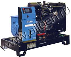 Дизель электростанция SDMO J88K мощностью 88 кВА (70 кВт) на раме