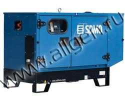 Дизель генератор SDMO K10M мощностью 10 кВА (8 кВт) в шумозащитном кожухе