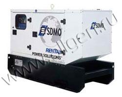 Дизель генератор SDMO R33 мощностью 33 кВА (26 кВт) в шумозащитном кожухе