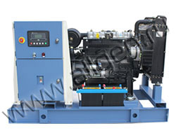 Дизель электростанция СТАРТ АД24-Т400 мощностью 33 кВА (26 кВт) на раме