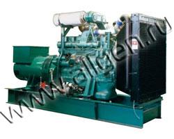 Дизель электростанция Stubelj LDE 550 P мощностью 550 кВА (440 кВт) на раме