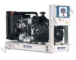Дизель электростанция Teksan TJ31PRNG5A мощностью 31 кВА (25 кВт) на раме