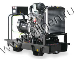 Дизель электростанция Teksan TJ32JD5A  мощностью 32 кВА (26 кВт) на раме