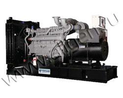 Дизель электростанция Teksan TJ348PE5A мощностью 349 кВА (279 кВт) на раме