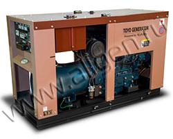 Дизель электростанция TOYO TG-40T мощностью 34 кВА (27 кВт) на раме