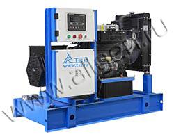 Дизель электростанция TCC АД-24С-Т400-РМ10 мощностью 33 кВА (26 кВт) на раме
