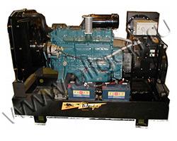 Дизель электростанция Вепрь PS 500 мощностью 550 кВА (440 кВт) на раме