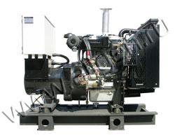 Дизель электростанция VibroPower VP30P мощностью 33 кВА (26 кВт) на раме
