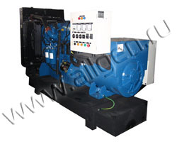 Дизель электростанция VibroPower VP325V мощностью 358 кВА (286 кВт) на раме