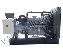 Дизель электростанция VibroPower VP500CU мощностью 550 кВА (440 кВт) на раме