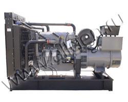 Дизель электростанция VibroPower VP500P мощностью 550 кВА (440 кВт) на раме