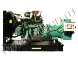 Дизель электростанция VibroPower VP500V мощностью 550 кВА (440 кВт) на раме