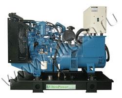 Дизель электростанция VibroPower VP80P мощностью 88 кВА (70 кВт) на раме