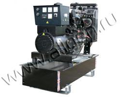 Дизель электростанция Welland WP30 мощностью 33 кВА (26 кВт) на раме