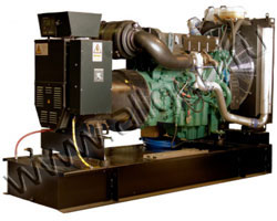 Дизель электростанция Welland WV325 мощностью 358 кВА (286 кВт) на раме