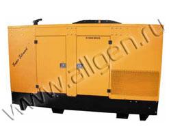 Дизель генератор WFM TK3000 WC мощностью 341 кВА (273 кВт) в шумозащитном кожухе