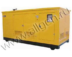 Дизель генератор WFM TK5000 WCE мощностью 550 кВА (440 кВт) в шумозащитном кожухе