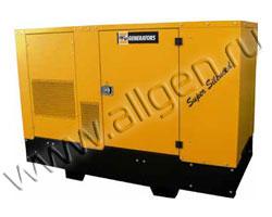 Дизель генератор WFM TK300 WC мощностью 33 кВА (26 кВт) в шумозащитном кожухе