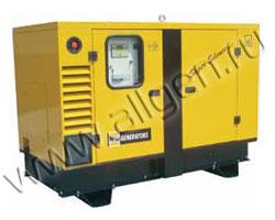 Дизель генератор WFM MS300-WP (09224) мощностью 33 кВА (26 кВт) в шумозащитном кожухе